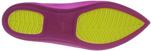 Crocs 16265 Rio plat/tableau W Vibrant Violet Vibrant Violet/Chartreuse