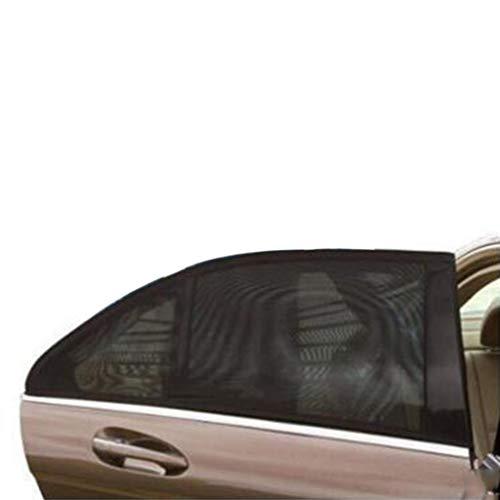 Preisvergleich Produktbild SUN-Feng Auto Sonnenschutz Sonnenschutz,  Outdoor Camping Anti-Moskito Staubdicht Sonnenblende Schwarz Einfach Zu Tragen Menge (Farbe : Schwarz)