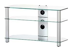 sonorous neo 390 c slv tv tisch f r 40 fernseher amazon. Black Bedroom Furniture Sets. Home Design Ideas