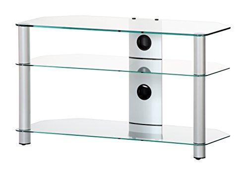 """Sonorous NEO 390-C-SLV TV-Tisch für 40"""" Fernseher"""