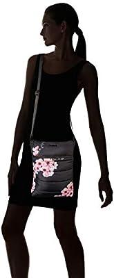 Desigual Bols_fluff Ghana, Sacs bandoulière femme, Noir (Negro), 3x29x22.3 cm (B x H T)