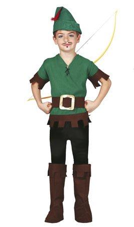 Disfraz de Robin de los bosques para niño - 4-6 años