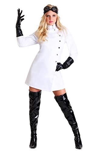 Fun Costumes Das verrückte Wissenschaftler-Kostüm der Frauen - (Verrückter Wissenschaftler Kostüm)