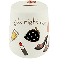 Girls night out - Salvadanaio in ceramicaa forma di cono