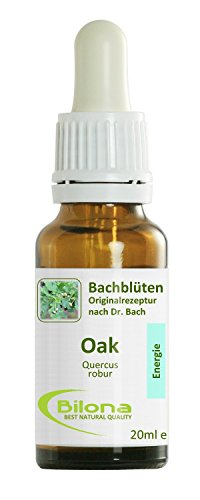 Joy Bachblüten, Essenz Nr. 22: Oak; 20ml Stockbottle