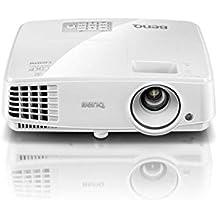 "BenQ MS517H - Proyector (1524 - 7620 mm 60 - 300"", 4:3,  3300lúmenes ANSI DLP 3D SVGA (800x600) ), color blanco"
