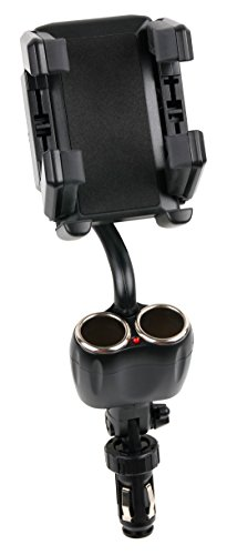 "Auto-Halterung für Zigarettenanzünder & Lüftungsgitter für Garmin Drive 50 LMT CE | 50LMT CE (5"") | Drive 60LMT CE (6"") | DriveSmart 61LMT-D EU + 61LMT-S Navigationssysteme"
