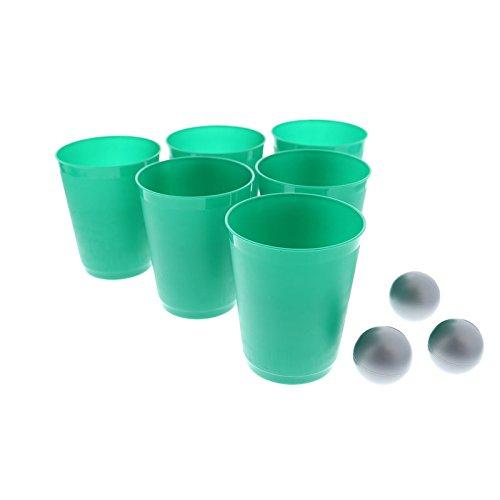 alltoshop Gin & Tonic Pong Trinkspiel - Gin & Tonic Pong Saufspiel Partyspiel Beer Pong