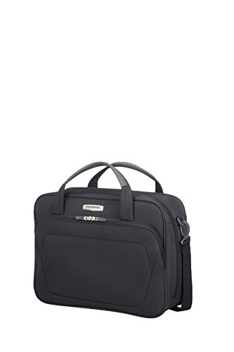 SAMSONITE Spark SNG - Shoulder Bag Sac bandoulière, 44 cm, 25 liters, Schwarz (Aktentasche Reisetasche)