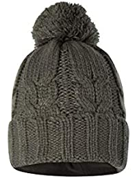 Mountain Warehouse Gorro Frosty Bobble para Hombre - Gorro Polar con pompón 46ded3378ff