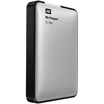 Western Digital 2TB My Passport for Mac tragbare externe Festplatte - USB 3.0 - WDBZYL0020BSL-EESN