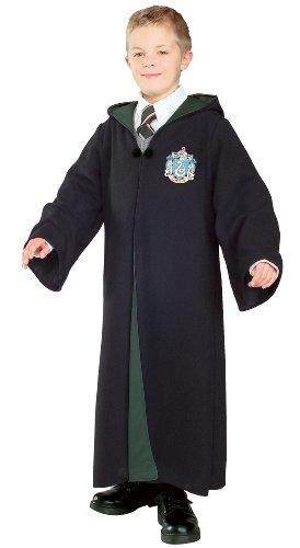 Original Lizenz Harry Potter Kostüm Robe Slytherin deluxe Kind ()