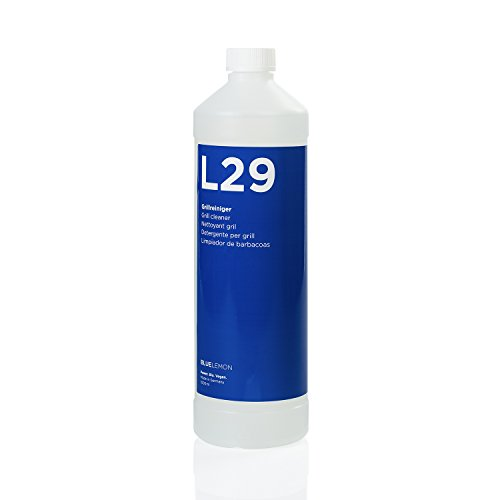 Profi Grillreiniger 1000ml L29 von BLUELEMON | Biologisch | 90613 | Spezialreiniger mit Aktivschaum zum Reinigen von Gas- und Holzkohlegrills