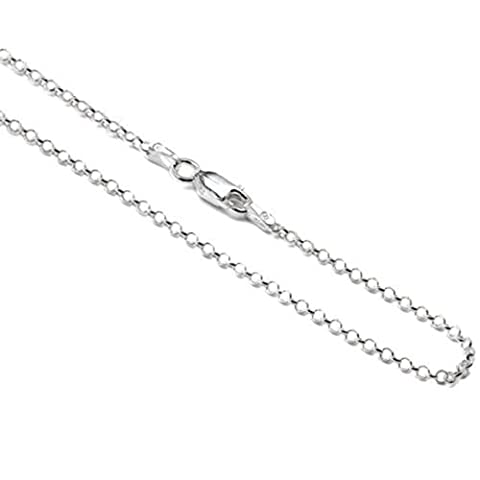 Sterling Silver Italian 1 mm Rolo Chain Sizes18, 23, 36,
