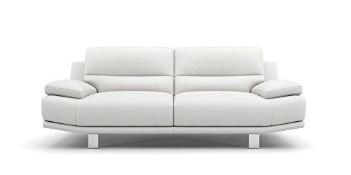 Leder Sofa Couch 2-Sitzer Designer Polstergarnitur Sitzgruppe Couchgarnitur - 2