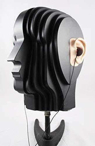 Dummy Head And Binaural Microphone: de cabeza de madera de DM. Incluye Binaurale adaptador de micrófono, y PPA integrado.
