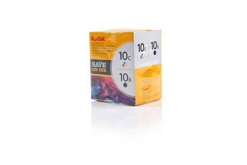 Kodak Tinte 10 Combo, schwarz/ farbig (Kodak Tintenpatrone Schwarz 10)