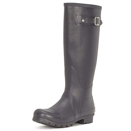 Polar Womens Original Tall Snow Winter Waterproof Rain Wellies Wellington Boots