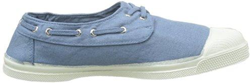 Sneaker Blau 563 Tennis Damen Denim Bensimon Bleu Bateau zwIBOtxnq6