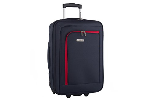 Maleta semirrígida PIERRE CARDIN azul mini equipaje de mano ryanair VS99