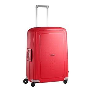 Samsonite S'Cure - Spinner 69 - 4,20 Kg Suitcase, 69 cm, 79 L, Crimson Red