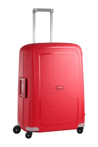 Samsonite - S'cure Spinner 69 cm, Rojo (CRIMSON RED)