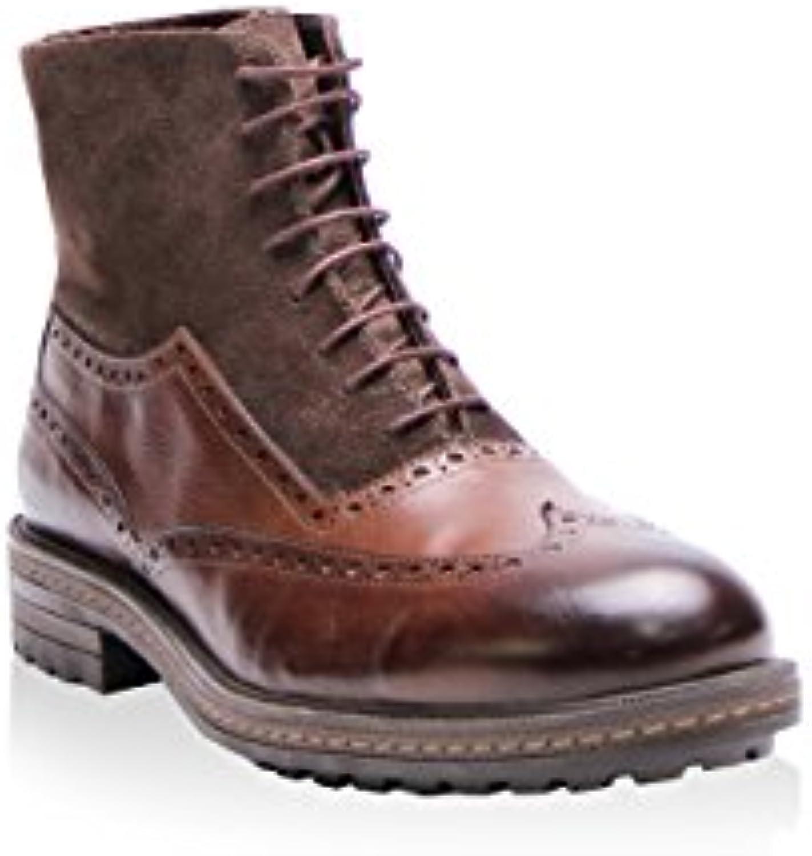 E.Goisto BF1003 Stiefel Boots Leder Braun
