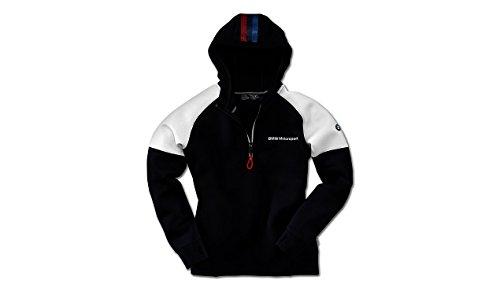 Preisvergleich Produktbild BMW Original Motorsport Hoodie Top Damen Polyester Mesh-Einsatz Reißverschluss Größe S Blau
