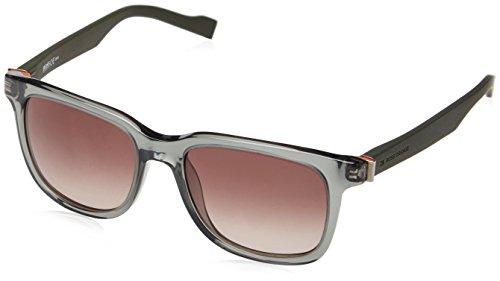Boss orange occhiali da sole 0127/s triangle hinge - 1qj/ha: verde trasparente / verde