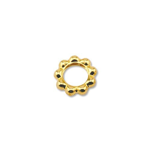 beadalon-144-piece-6-mm-beaded-solid-ring-gold-plate-by-artistic-wire