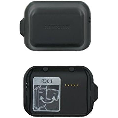 Vera Samsung SM-R381Galaxy Gear 2Neo Colore: Nero carbone di ricarica Dock–GH98–32132A