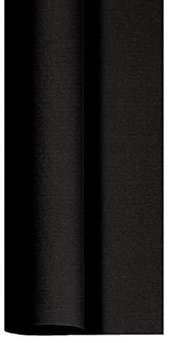 Duni Dunicel® Tischdecke schwarz, 1,18m x 25m, 185474 Tischdeckenrolle