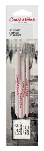 5 Pastellstifte, Skizzenstifte und Zubehör, mehrfarbig, 5.9 x 25.5 x 1.4 cm ()