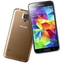 Samsung Galaxy S5 de 16GB, smartphone libre color oro - (Reacondicionado Certificado)