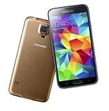 Samsung Galaxy S5 Gold 16GB SIM-Free Smartphone (Zertifiziert und Generalüberholt)