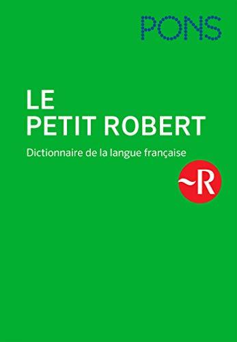 PONS Le petit Robert: Dictionnaire de la langue française