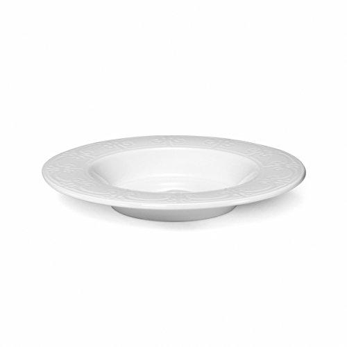Mikasa Sutton White Rim Soup Bowl by Mikasa