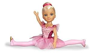 Nancy- Un día, Muñeca con tutú de Purpurina y puntas de ballet, para niños y niñas a partir de 3 años, (Famosa 700015543)