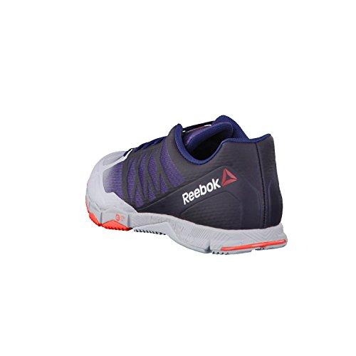 Reebok R Crossfit Speed Tr, Sneaker a Collo Basso Uomo Cloud Grey/ Collegiate Navy/ Atomic Red
