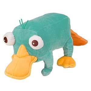 Phineas and Ferb - Perry Plush with Sound - 30cm (45.5cm with tail)