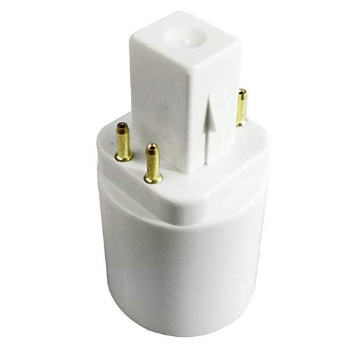Lampenhalter-Konverter, Home Need Bypass Vorschaltgerät, 4-polig, Reisesystem, professioneller G24Q auf E26/E27, langlebiger Sockel-Adapter, ideal für Glühbirnen, Wie abgebildet, 1 Stpck 250.0volts