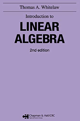 Introduction to Linear Algebra, 2nd edition (English Edition)