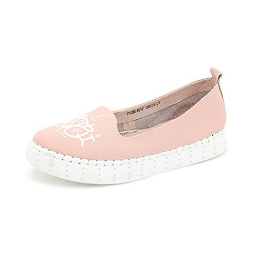 Chaussures de fond plat de l'automne/ Tête de peau pure light shoes/Chaussures de loisirs B