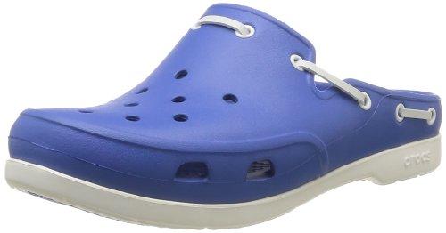 Crocs  Beach Line Clog,  Unisex Erwachsene Clogs Blau (Sea Blue/White)