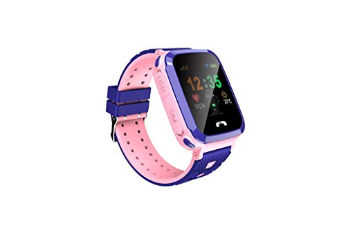 nder Smart Watch Phone Tracker Positionierung Smartwatch (ROSA) ()