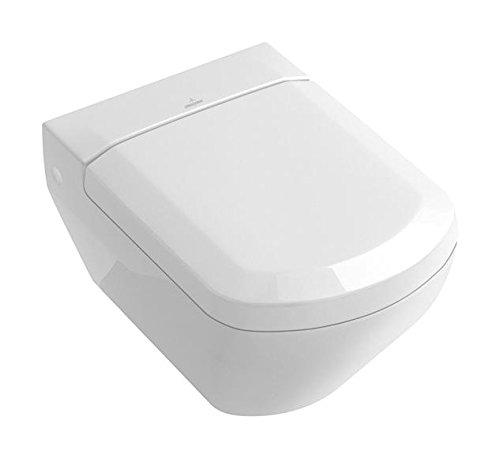 Villeroy & Boch 98M8S101 WC-Sitz Sentique mit softclosing Scharnieren, weiß
