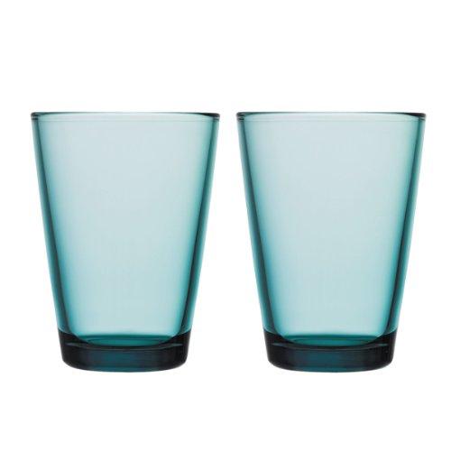 Iittala 1008596 Gläser-Set Kartio 2-teilig 0,40 L, seeblau