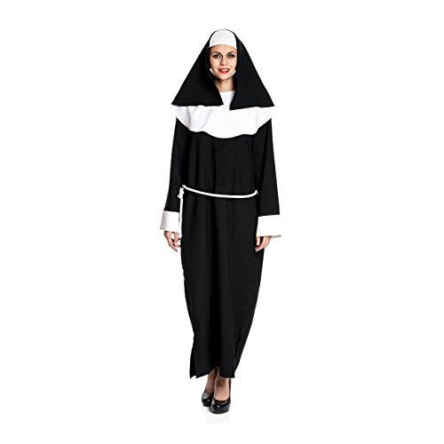 Kostümplanet® Nonnen-Kostüm Frauen Größe ()
