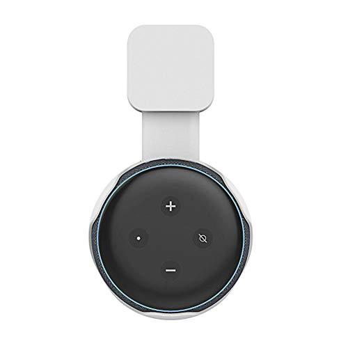 Duhe Wandhalterung für Dot 3. Generation Smart Home Voice Assistants weiß (3 Generationen Bilderrahmen)