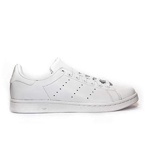 adidas Stan Smith, Scarpe da Ginnastica Basse Uomo, Multicolore Ftwr White S75104, 45 1/3 EU
